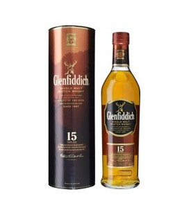 Glenfiddich Scotch whisky 15 Y