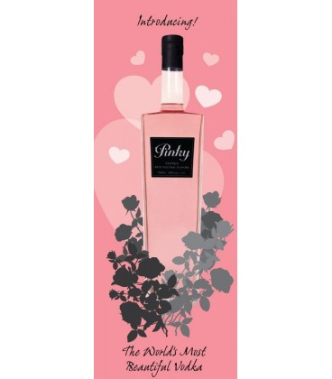 Pinky Vodka Natural Aromatic